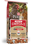 Purina Layena Plus Omega-3 SunFresh Recipe Pellets Natural Chicken Feed