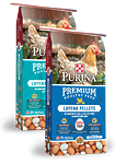 Purina Layena SunFresh Recipe Crumbles and Pellets Natural Chicken Feed