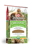 Purina Organic Starter-Grower Crumbles Poultry Feed