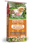 Purina Start & Grow SunFresh Recipe Starter Non-Medicated Crumbles Natural Chicken Feed