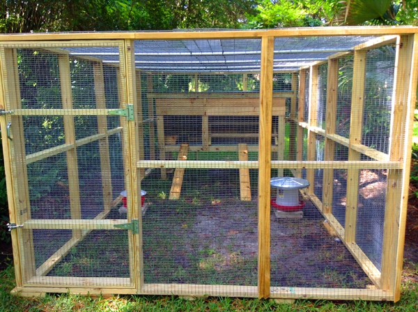 Walk In Chicken House chicken coops, rabbit hutches, aviaries